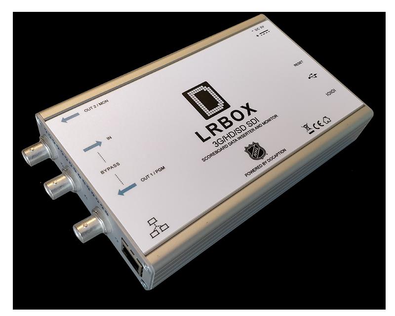 LRBox scoreboard data encoder and decoder